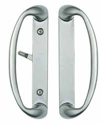 sonoma sliding door handle in brushed nickel fits up to 1 3 4