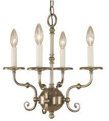framburg 2374ab jamestown 4 light 17 inch antique brass mini chandelier ceiling light