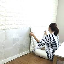 faux brick wallpaper faux brick wall covering x l and stick wall panels for walls sofa
