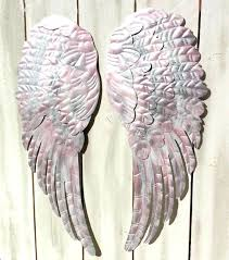 angel wings wall hanging s s diy angel wings wall hanging
