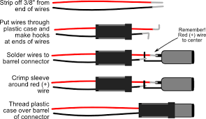 power jack wiring wiring diagram site step by step ering a barrel plug onto a battery holder or dc headset microphone jack wiring power jack wiring