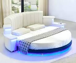 2016 Factory Supply Modern Leather Round Bed With Led Light And Radio - Buy  Modern Leather Round Bed,Modern Leather Bed With Led Light And Radio,2016  ...