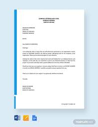 Solicitation Latter Free Solicitation Letter For Financial Support Template