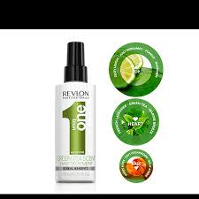 Maybe you would like to learn more about one of these? Revlon Uniqone All In One Green Tea Hair Treatment 150ml Hairmnl