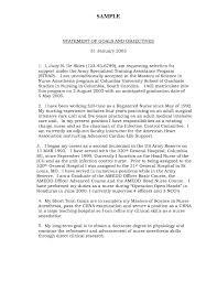 Statement Of Purpose Graduate School Example 10 Example Letter Of Intent Graduate School Proposal Sample