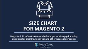 Magento 2 Size Chart Extension Magento 2 Size Chart By Magecomp