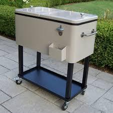 amusing patio cooler cart 2 90010 bs
