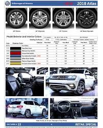 2018 volkswagen atlas black. Exellent Atlas 2018 Volkswagen Atlas Order Guide  Page 4 Intended Volkswagen Atlas Black