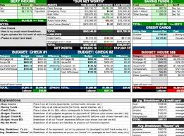 Home Finance Bill Organizer 2015 10 Free Household Budget Spreadsheets For 2019