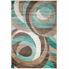 teal area rug target