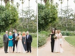 wedding family photos at alice keck memorial gardens