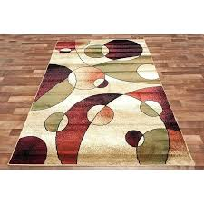 ideas red runner rug or contemporary circle runner rug modern swirls of red beige hallway runner