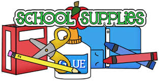 Image result for school supplies clipart