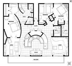 8 best floor plan images on pinterest condo floor plans Parent Trap House Plansranch Home Plans L Shaped suite plan hotel aspen square condo floor