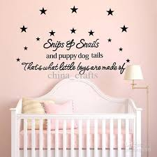 Small Picture Wall Decoration Nursery Wall Sticker Quotes Lovely Home