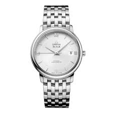 omega deville watches beaverbrooks the jewellers omega de ville prestige co axial men s watch