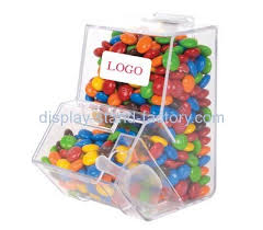 acrylic s manufacturer custom countertop candy display case nfd 059