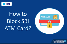 how to block sbi atm card by phone call