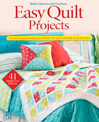 Easy Quilt Projects: Favorites from the Editors of American ... & Easy Quilt Projects: Favorites from the Editors of American Patchwork &  Quilting (Better Homes and Gardens Cooking): Better Homes and Gardens: ... Adamdwight.com