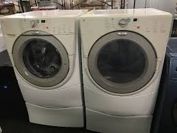 whirlpool duet washer dryer. Wonderful Dryer Whirlpool Duet Front Load WasherDryer Set  Appliance Mart Factory Washer  Dryer Oven Refrigerator Auction EquipBid To E