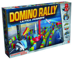 Domino rally for teens on