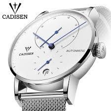 <b>Mens Watches CADISEN 2019</b> Top Luxury Brand Automatic ...