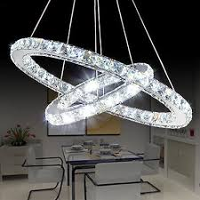 diy modern luxury oval crystal chandelier pendant light ceiling lamp home decor