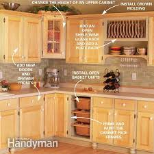 Kitchen Cabinet Upgrades New Cabinet Facelift The Family Handyman