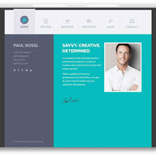 Best Html5 Vcard And Resume Templates For Your Personal Online