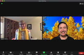 using zoom to record an interview video