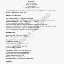 Mainframe Testing Resume Examples Qa Resume Samples Spectacular Idea 24 Sample Mainframe Technical 5