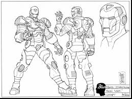 Small Picture Surprising iron man war machine coloring pages with ironman