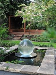 Garden Fountain Awesome Yard Fountain Ideas Front Yard Fountains