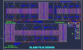 office corridor door glass. Office Corridor Elevation With Glass Film Design On Door And Partition