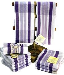 purple kitchen towels dish towels hand woven purple and gray kitchen towels