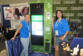 American Green Vending Machine Impressive AMS And Jofemar Are First Machine Makers To Integrate American Green