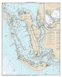 Amazon Com Sanibel Island Pine Island 2015 Nautical Map