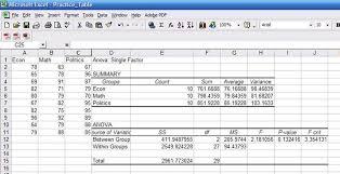 rate comparison format in excel descriptive statistics excel stata