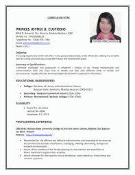 Employment Resume Samples Employment Resume Template Sample Job Cv