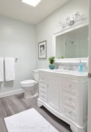 Bathroom Makeover Contest Classy Beautiful Bathroom Remodel Walls Glidden Chelsea Fog Vanity From