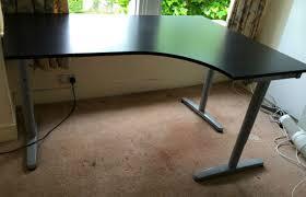 full size of furniture decorative ikea black corner desk 18 galant corner desk left marvelous
