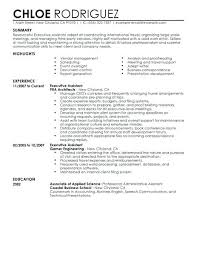Resume Templates For Administrative Positions Unique Resume Summary Examples For Administrative Assistants Best Executive