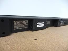 sharp sound bar. sharp-2-1-bluetooth-soundbar-with-wireless-subwoofer- sharp sound bar