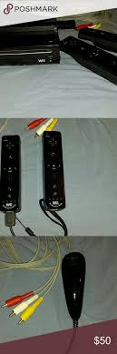 17 best ideas about used wii just dance song just used wii system 2 remotes wires to hook up to compatible tv 1 nunchuck