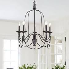 yobo lighting 5 light industrial candle chandelier oil rubbed bronze