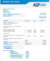 Simple Invoice Example 8 Samples In Pdf Excel Word