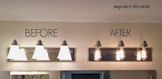 industrial bath lighting. Before Industrial Bath Lighting After Decoration Ideas Motive Wonderful Sample Adjustable I