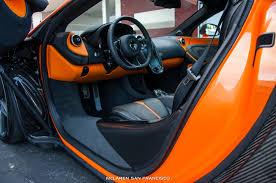 mclaren 570s interior. ventura orange mclaren 570s coup interior view mclaren 570s
