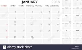 Simple Calendar Template 2015 Simple Planner Month By Month Calendar 2018 Template Week