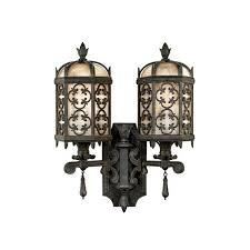 antique wall lights double costa del sol antique outdoor lighting oriental